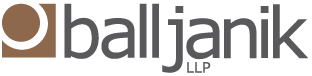Ball Janik LLP –  Law Firm Real Estate | Finance | Litigation Logo
